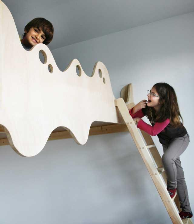 Kids erobern ihr Hochbett